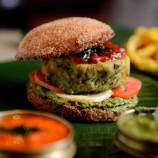 Idli-Burger