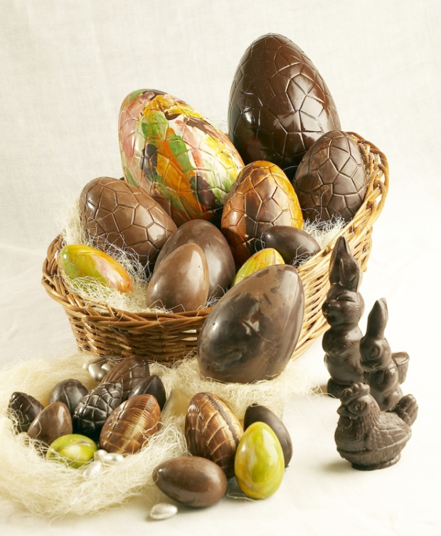 Easter eggs at La Baguette